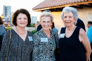 Robbie Kurland, Judith Carney & Commissioner Sue Gunzburger