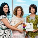 Girls' Club with funding partner Carolyn Lee, Northern Trust