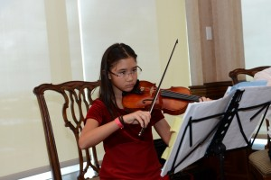 Florida Youth Orchestra's Abby Hart. Photo by Kelly Coulson.