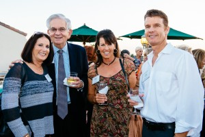 Wendy Masi, Theo Folz, Kathy Guerke, Andy Guerke at FAB! Kick Off event.