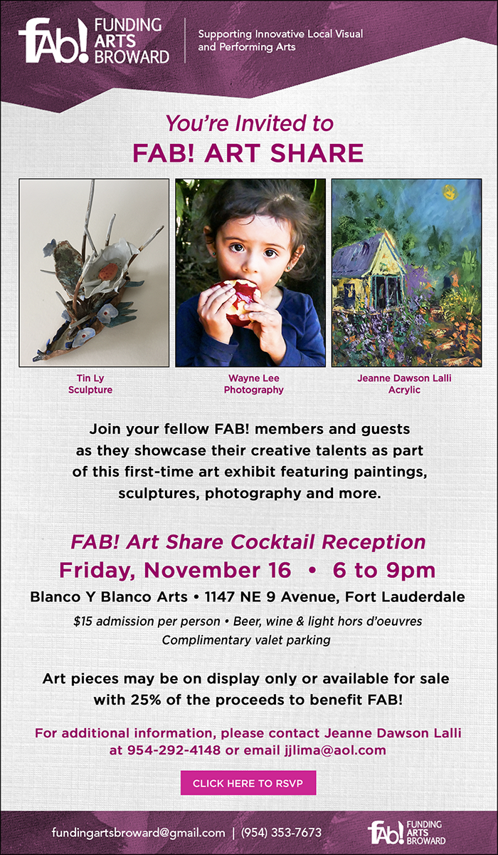 FAB! Art Share event